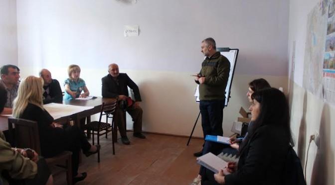 Հանդիպում «Ստեփանավանի «ԼոռԷ» փրկարար ջոկատ» ՀԿ-ի կողմից իրականացվող աղետների ռիսկի ուսումնասիրության շրջանակներում