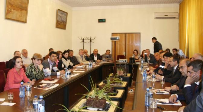 «Սեյսմիկ ռիսկը Հայաստանում: Նորարարական լուծումներ սեյսմակայուն շինարարության մեջ» թեմայով սեմինար-շնորհանդես