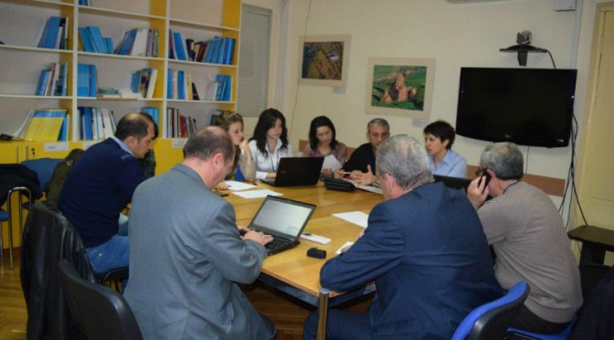 MEETING IN UNICEF (PHOTOS)