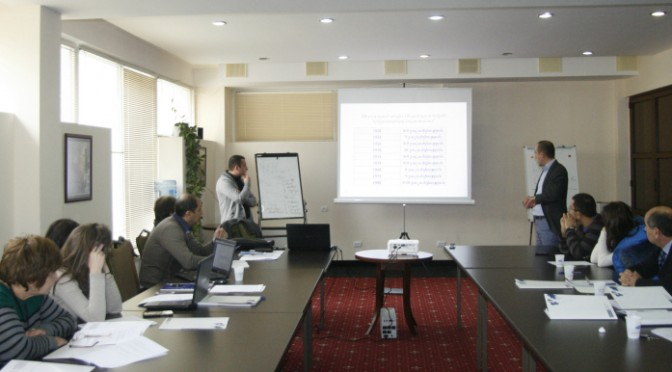 """INTRODUCTION TRAINING COURSE FOR AARHUS CENTERS ON """"IMPLEMENTATION OF THE LOCAL LEVEL RISK MANAGEMENT IN ARMENIA"""""""