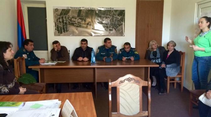 Աշխատանքային հանդիպումներ Կոտայքի մարզի համայնքներում