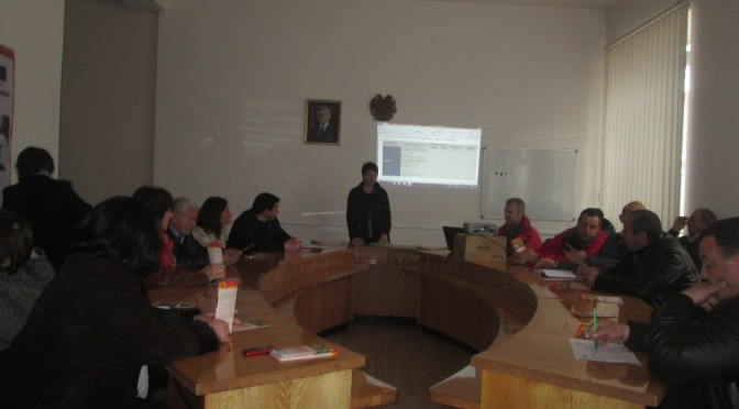 Working meeting in Tavush marz