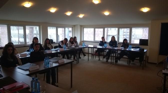 Մեկնարկեց կարգավար օպերատորների վերապատրաստման դասընթացների 2-րդ փուլը (ԼՈՒՍԱՆԿԱՐՆԵՐ)