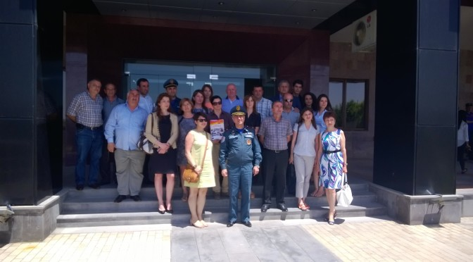 GEORGIAN DELEGATION VISITED MINISTRY OF TERRITORIAL ADMINISTRATION AND EMERGENCY SITUATION OF RA