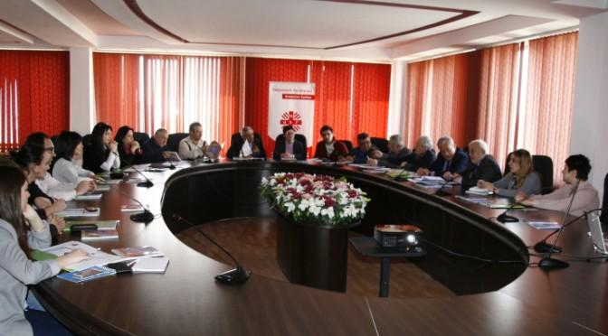 «Հայկական Կարիտաս» բարեսիրական ՀԿ-ի Աղետների Ռիսկերի Կառավարման (ԱՌԿ) նոր ռազմավարության ներկայացում