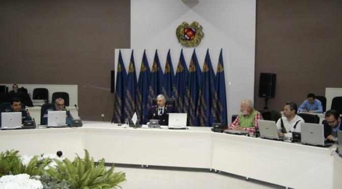 Սենդայի գործողությունների ծրագրի հանրայնացման ու իրականացման շրջանակներում ՀՀ արտակարգ իրավիճակների նախարարության կողմից նախաձեռնված հանդիպում-քննարկում
