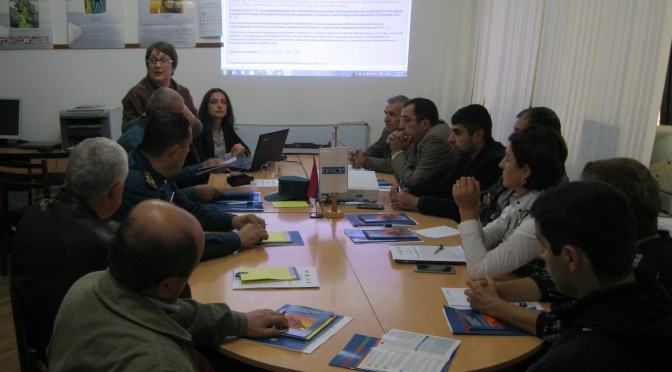 Meeting-training for Kapan local governmental body