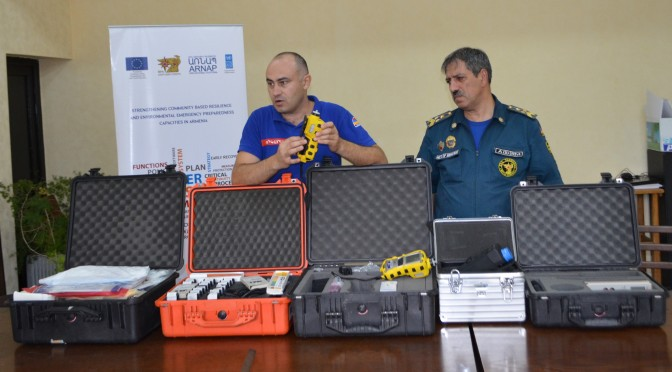 Strengthening Syunik Regional Rescue Department Capacities in Radiation, Chemical and Biological Protection