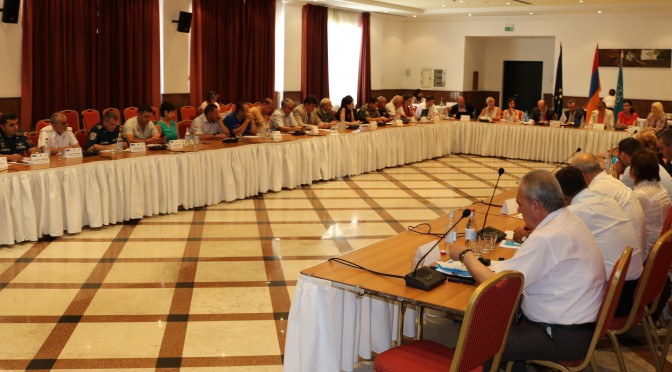 "FINAL CONFERENCE OF THE ""ADVANCING NATIONAL AND LOCAL EFFORTS TO REDUCE DISASTER RISK TO CHILDREN IN THE SOUTH CAUCASUS AND CENTRAL ASIA"" PROJECT"