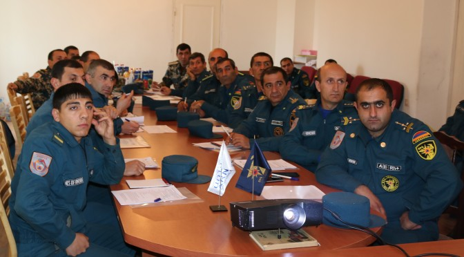 "Training on ""The Minimum Initial Services Package (MISP) in Emergency Situations"" in Armavir Marz"