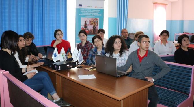 (Armenian) Մանկապարտեզներում մշակվում են աղետների ռիսկի կառավարման պլանները (Լուսանկարներ)