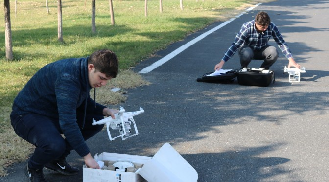 TRAINING ON UNMANNED AERIAL VEHICLE (UAV) SAFE OPERATION AND MAPPING WITH UAVS