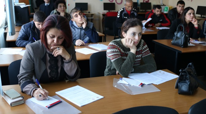 NEW TRAINING PACKAGES WERE DEVELOPED FOR CRISIS MANAGEMENT STATE ACADEMY