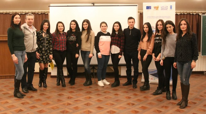 """Training on """"First Psychological Assistance in Emergency Situations"""" for students of CMSA"""