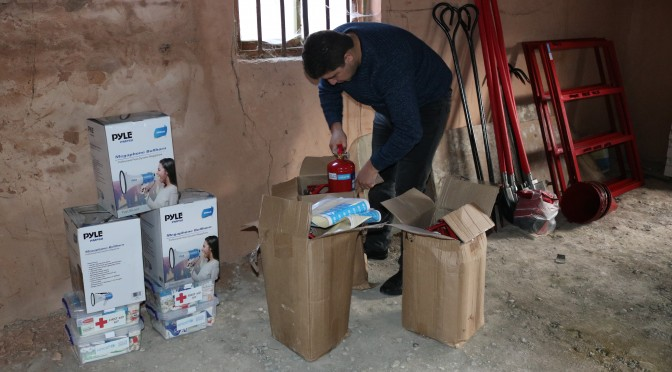 DRR EQUIPMENT FOR SCHOOLS AND KINDERGARTENS OF AMASIA, ALAVERDI, TUMANYAN AND BERD COMMUNITIES