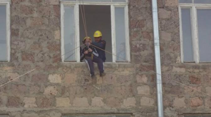 «Ուժեղ երկրաշարժի դեպքում փրկարարական աշխատանքերի  իրականացում» հանրային միջոցառում