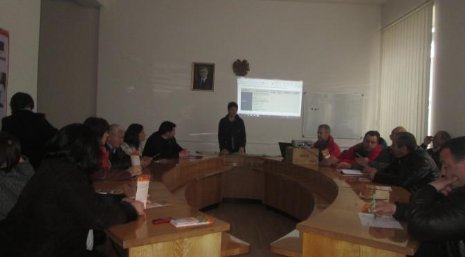 Աշխատանքային հանդիպում Տավուշի մարզում (ԼՈՒՍԱՆԿԱՐՆԵՐ)
