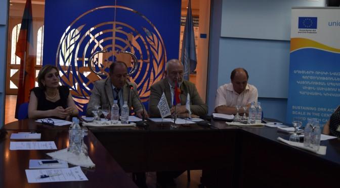 «Հայաստանում սոցիալական պաշտպանության ազգային համակարգի դիմակայունության հզորացում» ծրագրի հաշվետվության ներկայացում