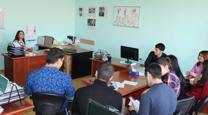 ՃԿՊԱ ուսանողները պրակտիկա են անցնում ԱՌՆ ազգային պլատֆորմ հիմնադրամում
