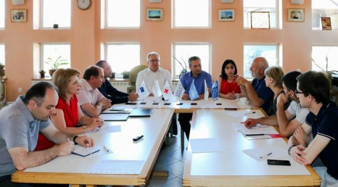 Հարավային Կովկասում DIPECHO IV ծրագրի շրջանակներում DG ECHO պատվիրակության այցը Հայաստան