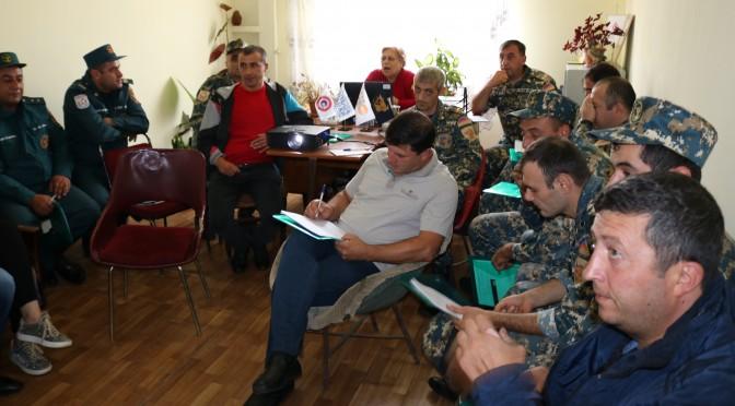 Վերապատրաստման դասընթացներ նախատեսված բուժաշխատողների և փրկարարների համար
