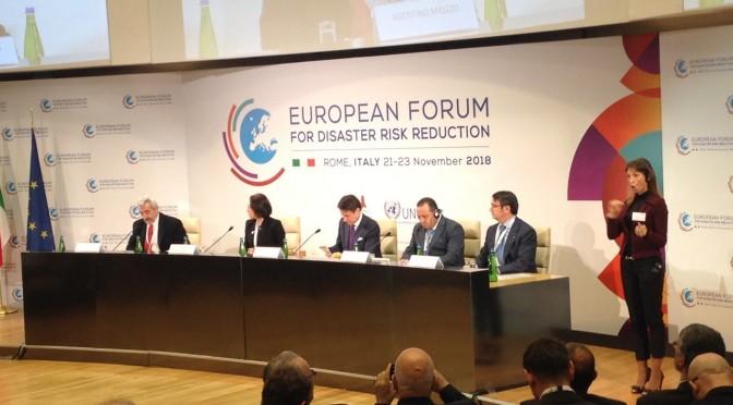 Հայաստանի պատվիրակությունը մասնակցում է Աղետների ռիսկի նվազեցման եվրոպական ֆորումին
