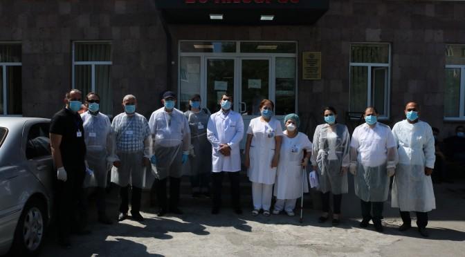 Առաջին գործնական աշխատանքները՝ «Հիվանդանոցների անվտանգություն և արտակարգ իրավիճակներին արձագանքնելու պատրաստվածություն» ծրագրի շրջանակներում